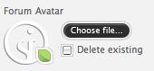 Stílus alkalmazása File Input-on