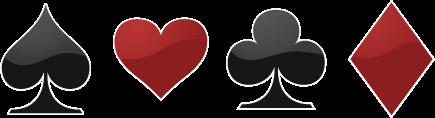 Póker szimbólumok