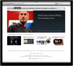 Steve Jobs' announcement