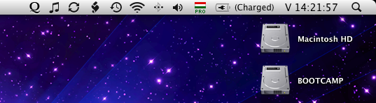 Quicksilver menubar icon