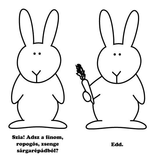 Bunnies\' talk.